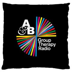 Above & Beyond  Group Therapy Radio Large Flano Cushion Case (Two Sides)