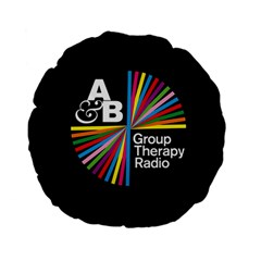 Above & Beyond  Group Therapy Radio Standard 15  Premium Flano Round Cushions