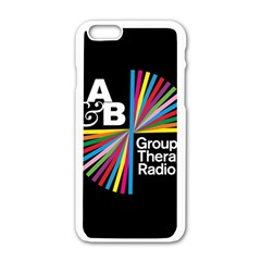 Above & Beyond  Group Therapy Radio Apple iPhone 6/6S White Enamel Case