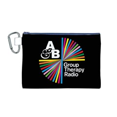 Above & Beyond  Group Therapy Radio Canvas Cosmetic Bag (M)