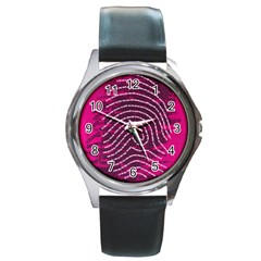 Above & Beyond Sticky Fingers Round Metal Watch