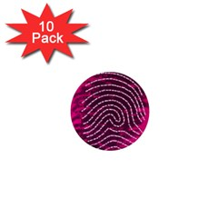 Above & Beyond Sticky Fingers 1  Mini Buttons (10 pack)
