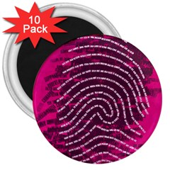 Above & Beyond Sticky Fingers 3  Magnets (10 pack)