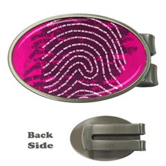 Above & Beyond Sticky Fingers Money Clips (Oval)