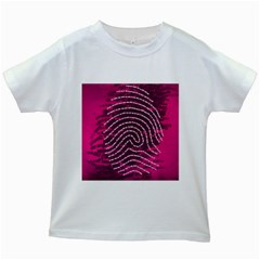 Above & Beyond Sticky Fingers Kids White T-Shirts