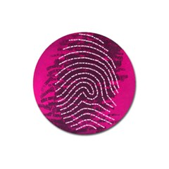 Above & Beyond Sticky Fingers Magnet 3  (Round)
