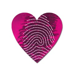 Above & Beyond Sticky Fingers Heart Magnet