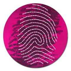 Above & Beyond Sticky Fingers Magnet 5  (Round)