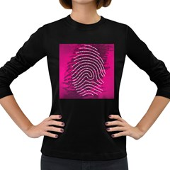Above & Beyond Sticky Fingers Women s Long Sleeve Dark T-Shirts