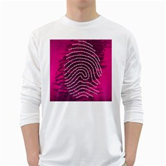 Above & Beyond Sticky Fingers White Long Sleeve T-Shirts