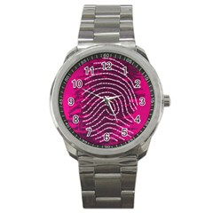 Above & Beyond Sticky Fingers Sport Metal Watch