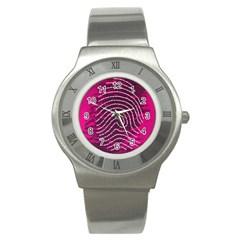 Above & Beyond Sticky Fingers Stainless Steel Watch