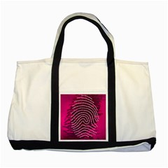 Above & Beyond Sticky Fingers Two Tone Tote Bag