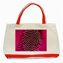 Above & Beyond Sticky Fingers Classic Tote Bag (Red)
