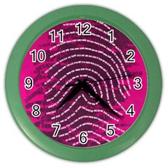 Above & Beyond Sticky Fingers Color Wall Clocks