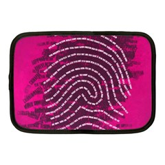Above & Beyond Sticky Fingers Netbook Case (Medium)