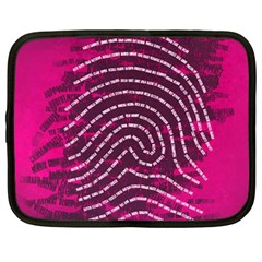 Above & Beyond Sticky Fingers Netbook Case (Large)