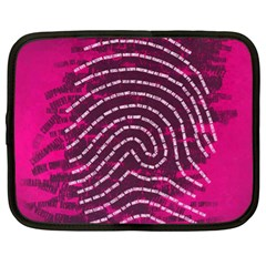 Above & Beyond Sticky Fingers Netbook Case (XL)