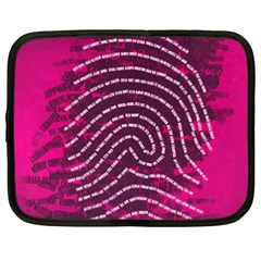 Above & Beyond Sticky Fingers Netbook Case (XXL)