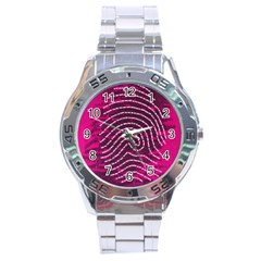 Above & Beyond Sticky Fingers Stainless Steel Analogue Watch