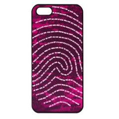 Above & Beyond Sticky Fingers Apple iPhone 5 Seamless Case (Black)