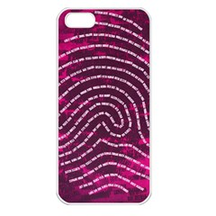 Above & Beyond Sticky Fingers Apple iPhone 5 Seamless Case (White)