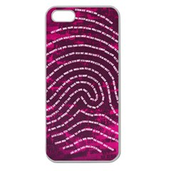 Above & Beyond Sticky Fingers Apple Seamless iPhone 5 Case (Clear)
