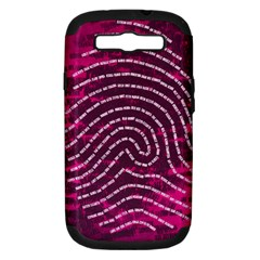 Above & Beyond Sticky Fingers Samsung Galaxy S III Hardshell Case (PC+Silicone)