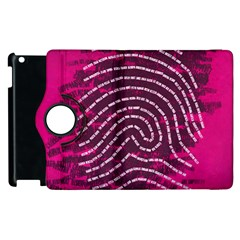 Above & Beyond Sticky Fingers Apple iPad 2 Flip 360 Case