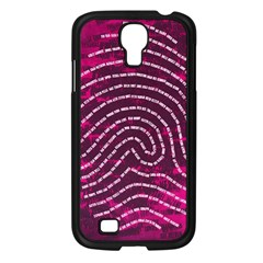 Above & Beyond Sticky Fingers Samsung Galaxy S4 I9500/ I9505 Case (black)