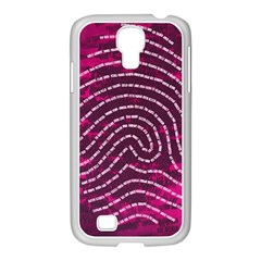 Above & Beyond Sticky Fingers Samsung GALAXY S4 I9500/ I9505 Case (White)