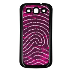 Above & Beyond Sticky Fingers Samsung Galaxy S3 Back Case (Black)