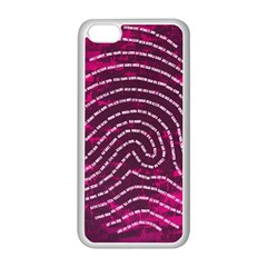 Above & Beyond Sticky Fingers Apple iPhone 5C Seamless Case (White)