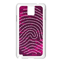 Above & Beyond Sticky Fingers Samsung Galaxy Note 3 N9005 Case (White)