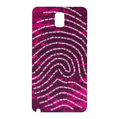 Above & Beyond Sticky Fingers Samsung Galaxy Note 3 N9005 Hardshell Back Case