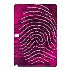 Above & Beyond Sticky Fingers Samsung Galaxy Tab Pro 12.2 Hardshell Case