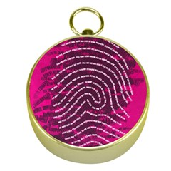 Above & Beyond Sticky Fingers Gold Compasses
