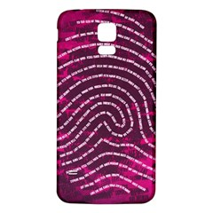 Above & Beyond Sticky Fingers Samsung Galaxy S5 Back Case (White)