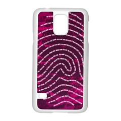 Above & Beyond Sticky Fingers Samsung Galaxy S5 Case (white)