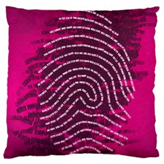 Above & Beyond Sticky Fingers Large Flano Cushion Case (One Side)
