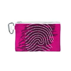 Above & Beyond Sticky Fingers Canvas Cosmetic Bag (S)