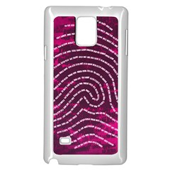 Above & Beyond Sticky Fingers Samsung Galaxy Note 4 Case (White)