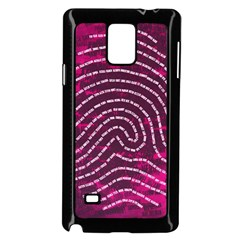 Above & Beyond Sticky Fingers Samsung Galaxy Note 4 Case (Black)