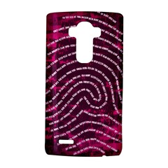 Above & Beyond Sticky Fingers LG G4 Hardshell Case