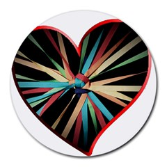 Above & Beyond Round Mousepads