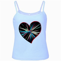 Above & Beyond Baby Blue Spaghetti Tank