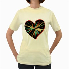 Above & Beyond Women s Yellow T-Shirt