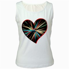 Above & Beyond Women s White Tank Top
