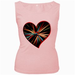 Above & Beyond Women s Pink Tank Top