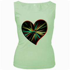 Above & Beyond Women s Green Tank Top